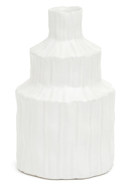 Laurentia Small White Vase