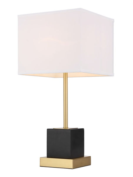 Lana 1 light Brass Table Lamp