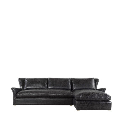 Leather Sectional, Home Furnishings, Laura of Pembroke