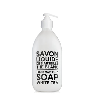 Liquid Marseille Soap 16.9 fl. oz. - White Tea