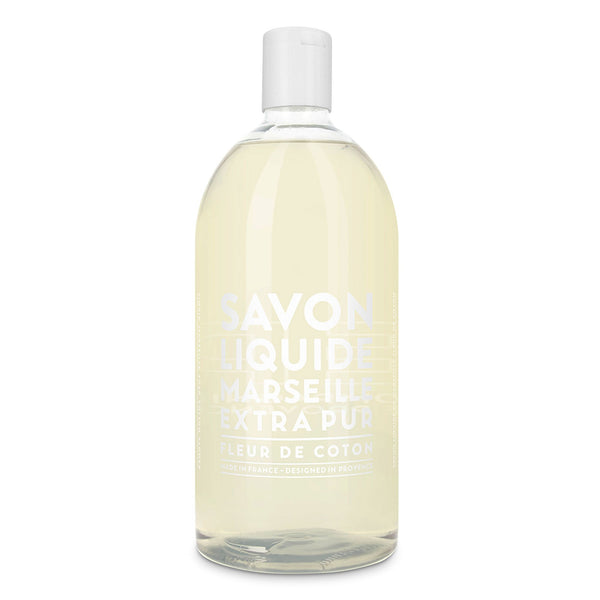 Liquid Marseille Soap Refill 33.8 fl. oz. - Cotton Flower