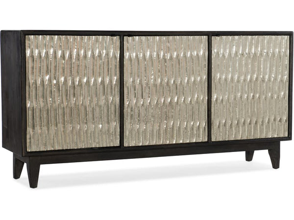Living Room Shimmer Three-Door Credenza