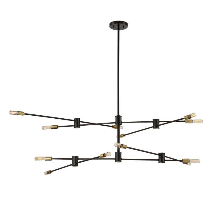 Lyrique 12 Light Chandelier
