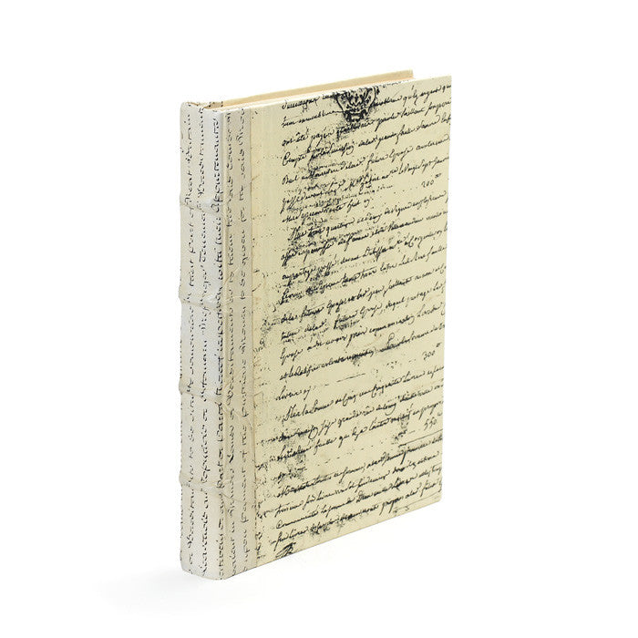 Ivory Script Book, Home Accessories, Laura of Pembroke