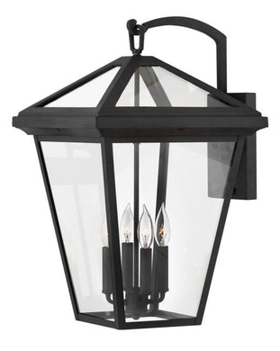 LED Alford Place Museum Black XL Wall Mount Lantern