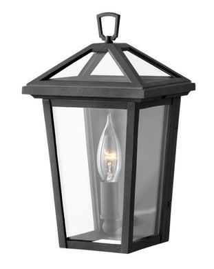 LED Alford Place Museum Black XS Wall Mount Lantern