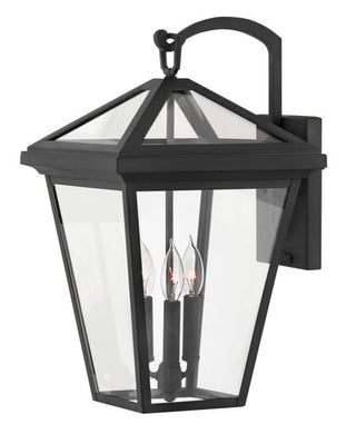 LED Alford Place Museum Black Large Wall Mount Lantern