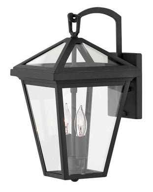 LED Alford Place Museum Black Small Wall Mount Lantern