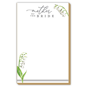 MOTHER OF THE BRIDE FLORAL LUXE LARGE PAD