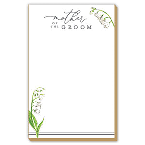 MOTHER OF THE GROOM FLORAL LUXE LARGE PAD