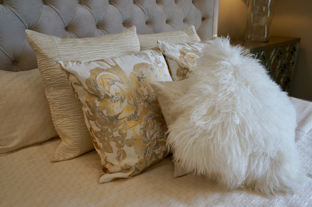 Glam Ivory Pillow, Home Accessories, Laura of Pembroke