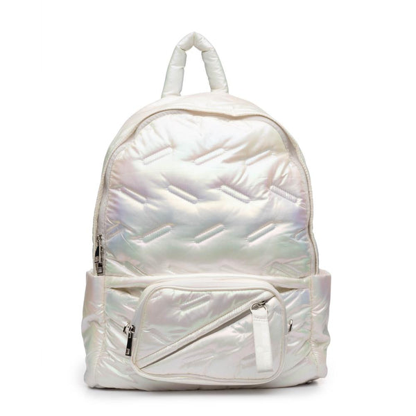 Maya Backpack White Iridescent