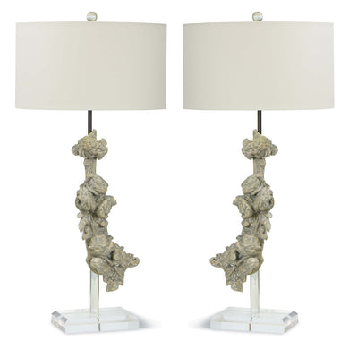 Meri Buffet Table Lamps Pair