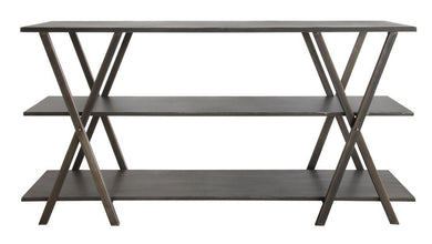 Metal 3-Tiered Console Shelf, Home Furnishings, Laura of Pembroke