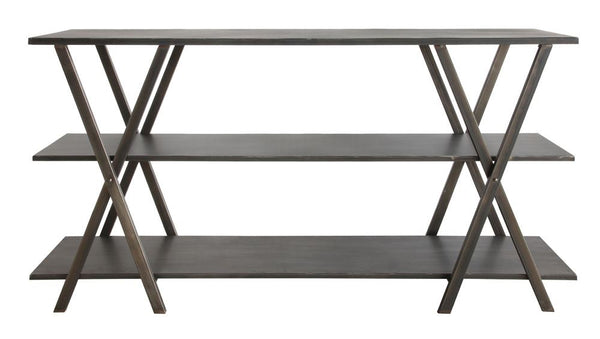 Metal 3-Tiered Console Shelf