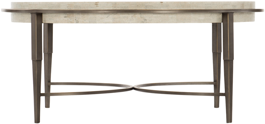 Metal Round Cocktail Table