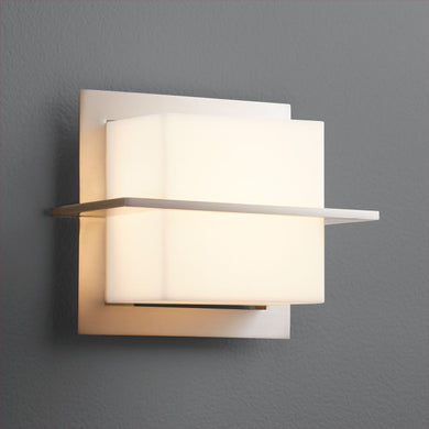 Metrix Sconce - Satin Nickel