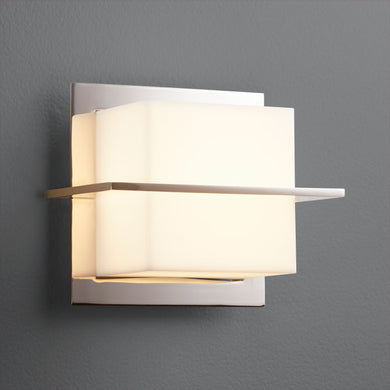 Metrix Sconce - Polished Nickel