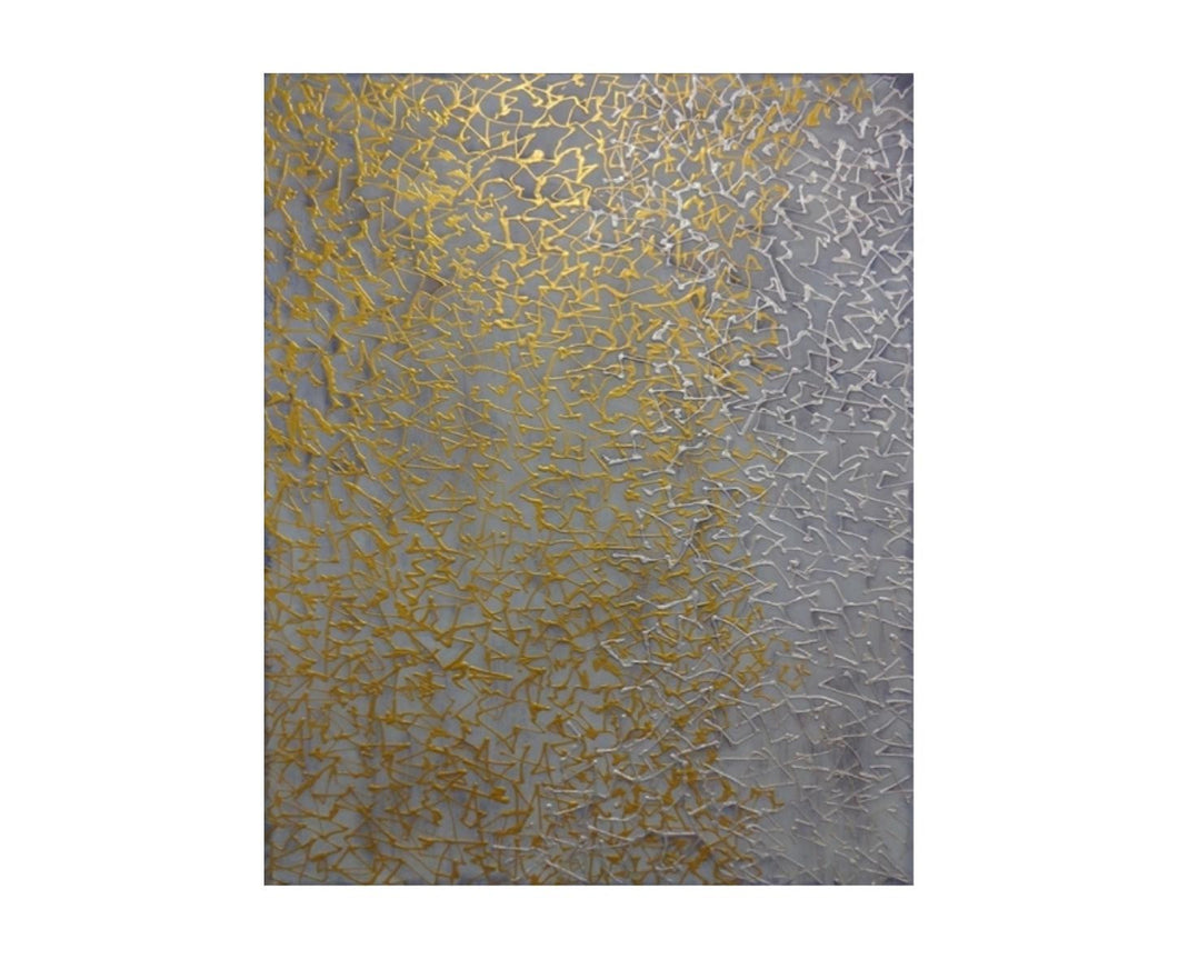 Metallic Network 48X60