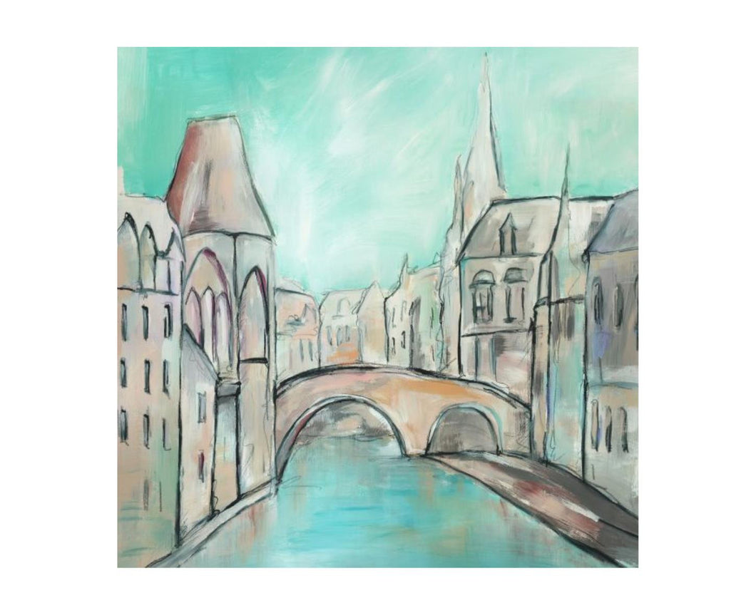 Moments in Europe III 24X24, Home Accessories, Laura of Pembroke