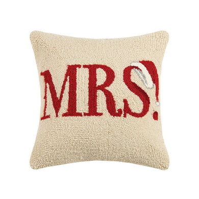 Mrs. Claus Hook Pillow