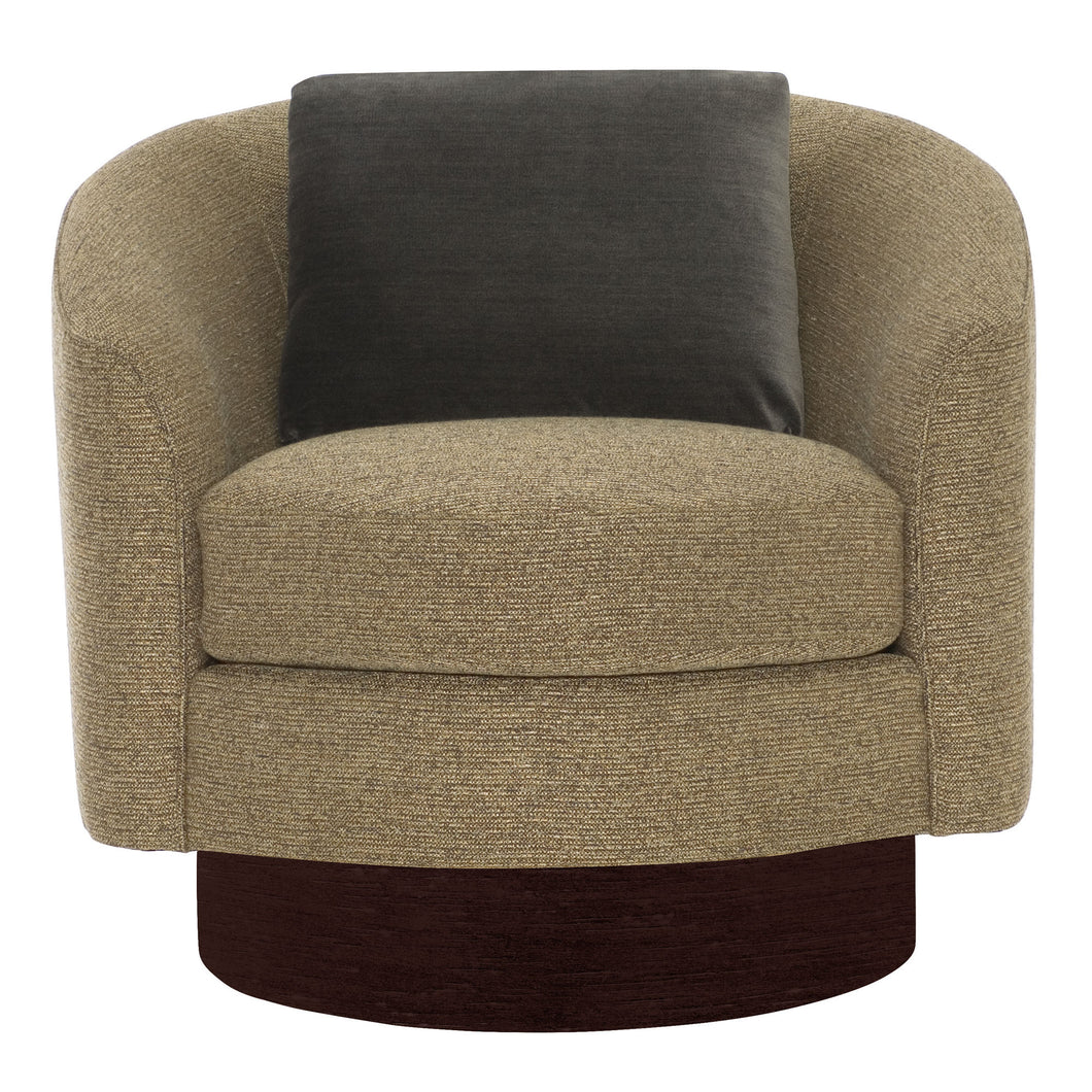 Swivel Chair with Base, Home Furnishings, Laura of Pembroke