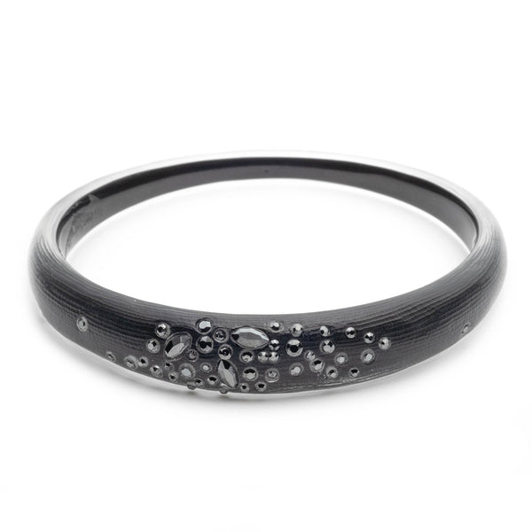 Noir Dust Skinny Tapered Bangle