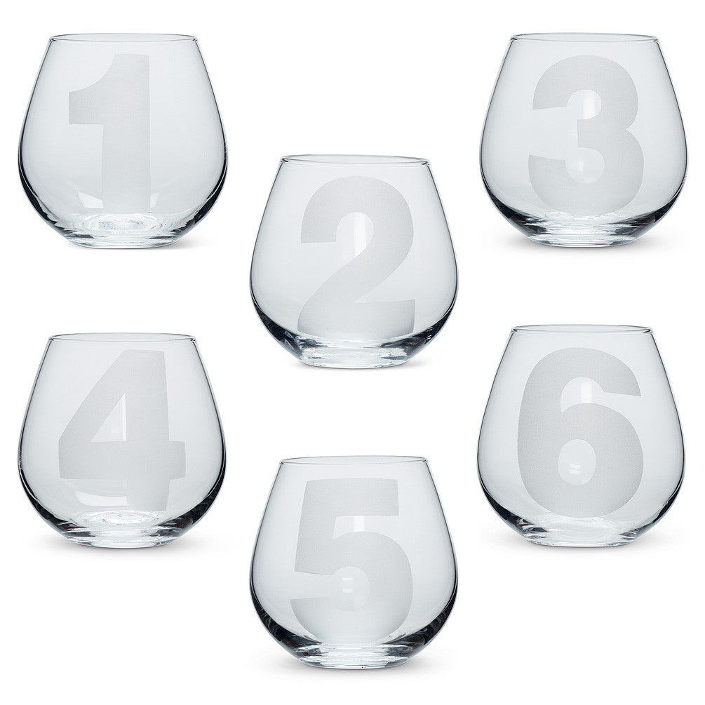 Numbered Stemless Goblet, Gifts, Laura of Pembroke