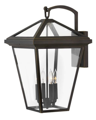 LED Alford Place Oil Rubbed Bronze Wall Mount Lantern