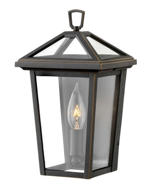 LED Alford Place Oil Rubbed Bronze XS Wall Mount Lantern