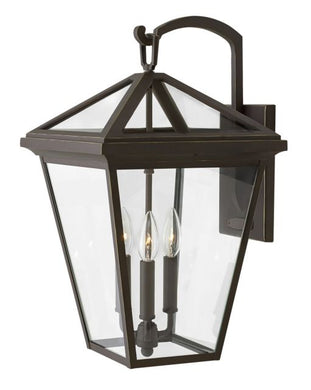 LED Alford Place Oil Rubbed Bronze Large Wall Mount Lantern