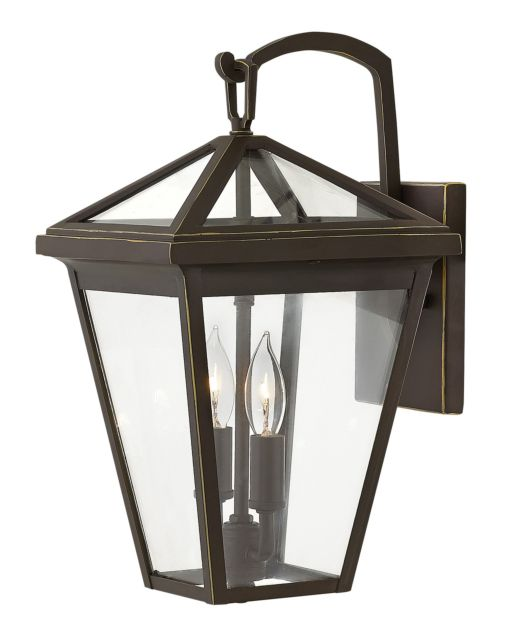 LED Alford Place Oil Rubbed Bronze Small Wall Mount Lantern