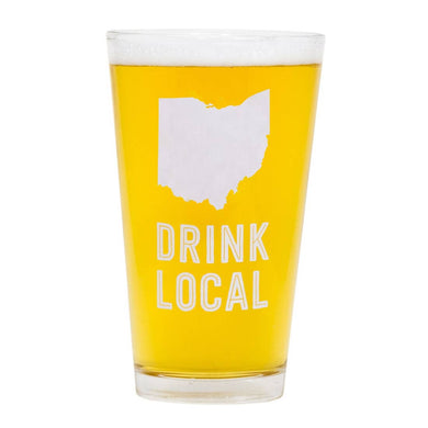 Ohio Pint Glass