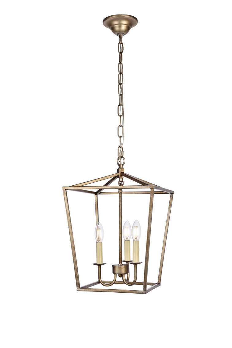 Open Lantern Vintage Silver 3 Light Chandelier, Lighting, Laura of Pembroke