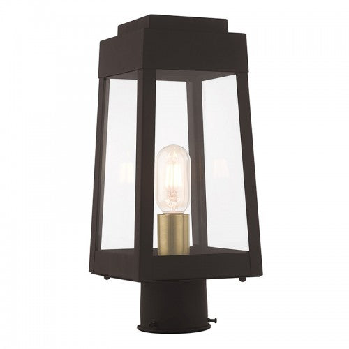 Oslo 1 Light Bronze Post Top Lantern, Lighting, Laura of Pembroke