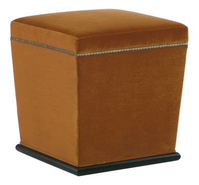Ottoman with Nail Heads, Home Furnishings, Laura of Pembroke