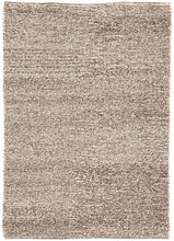 "Hand Woven Feather Gray/Goat Rug, 7'10"" X 10'10"""