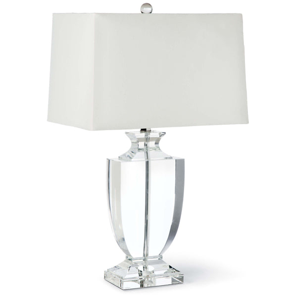 Phat Crystal Urn Table Lamp
