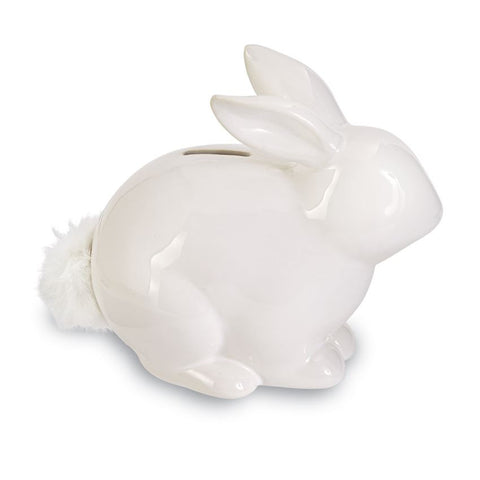 Puff Tail Bunny Bank