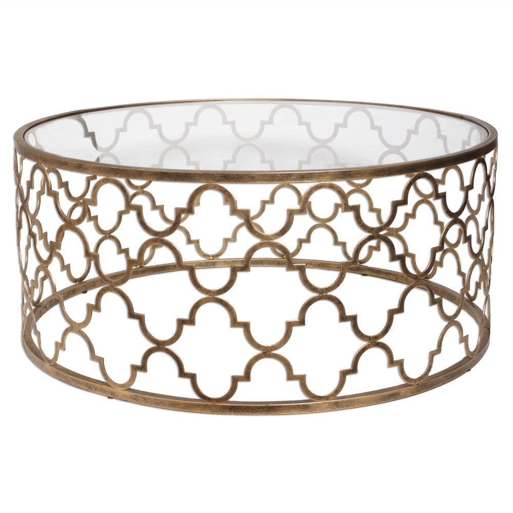 Quatrefoil Coffee Table, Home Furnishings, Laura of Pembroke