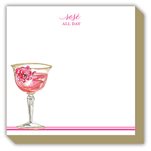 'Rose All Day' Luxe Notepad