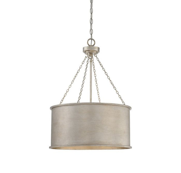 Rochester Silver Patina 4 Light Pendant
