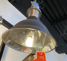 Round Hanging Light Lamp Aluminum with Chain