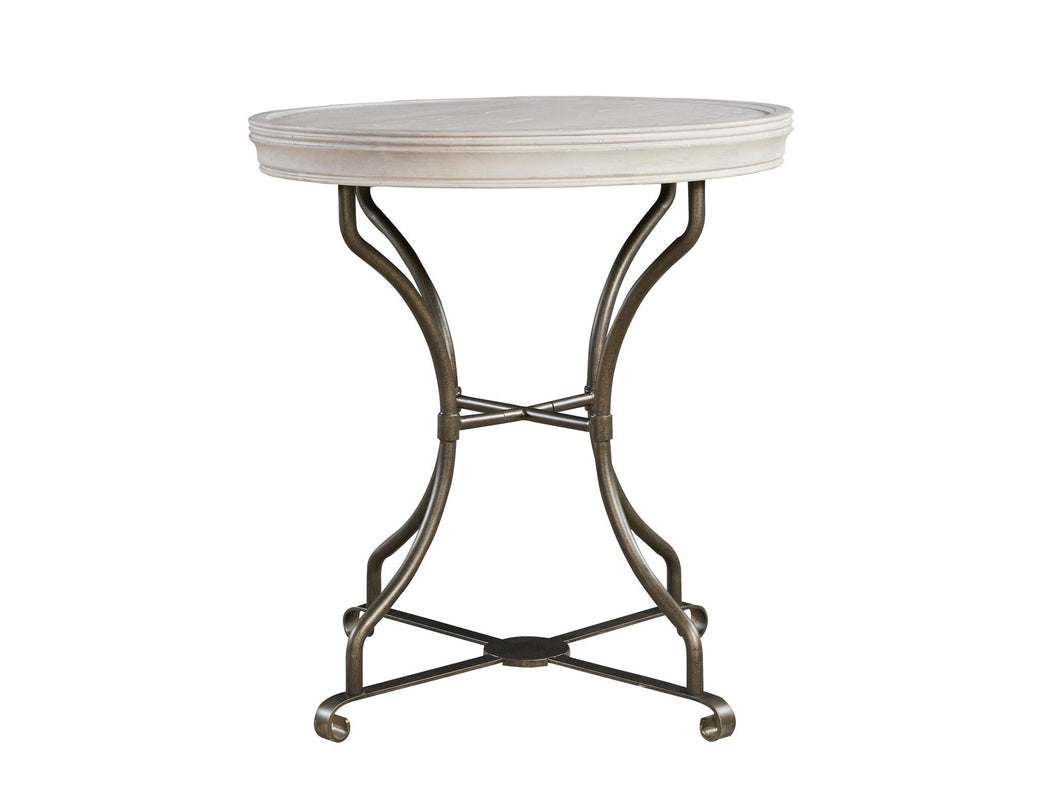 Round End Table, Home Furnishings, Laura of Pembroke