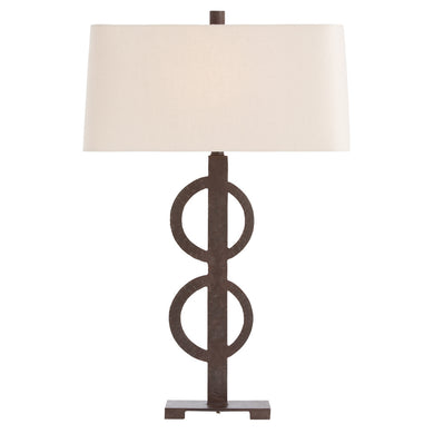 Rusted Iron Table Lamp