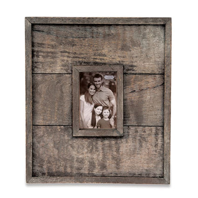 Small Planked Wood Wall Frame