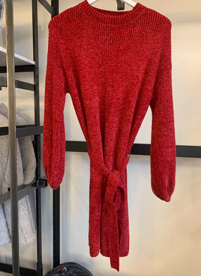 Sabina Chenille Sweater Dress