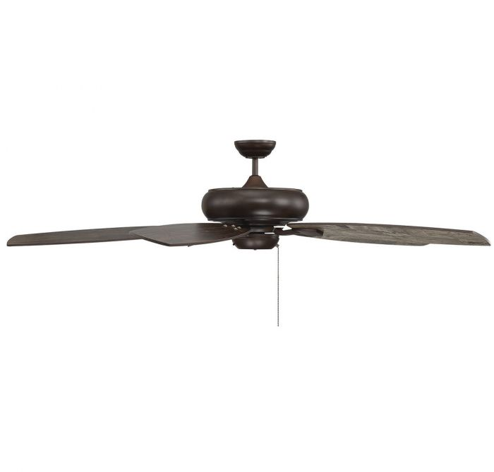 Salon Wind Star 68-inch 5 Blade Espresso Ceiling Fan