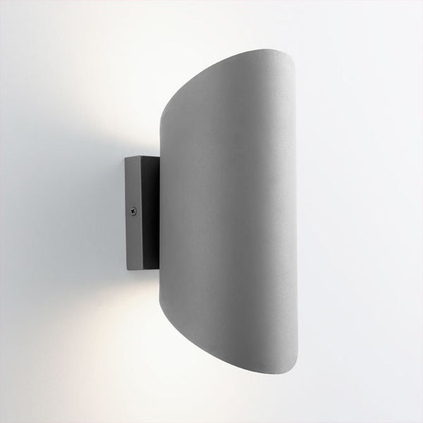 Scope Outdoor Sconce - Grey