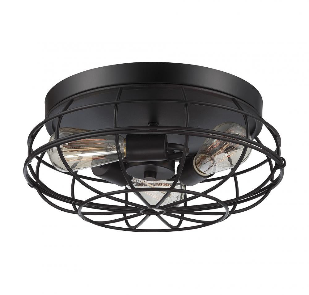Scout English Bronze Flush Mount, Lighting, Laura of Pembroke
